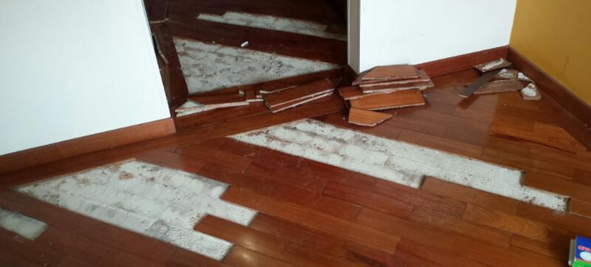 Inundaciones de pisos de madera en bogot - Rellenar juntas piso madera ...
