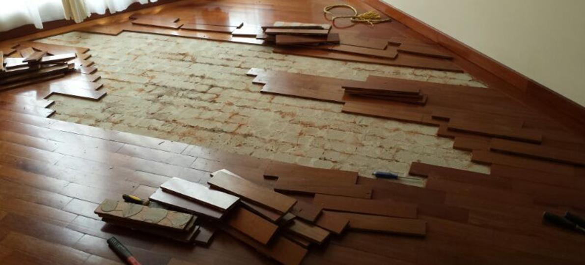 Reparaciones de pisos en madera bogot - Piso que se pega ...