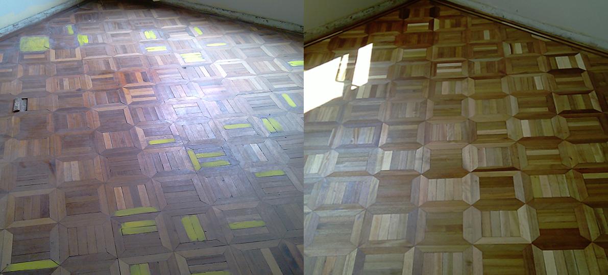 Arreglos de parquet parquet con acabado brillante - Reparar piso parquet ...